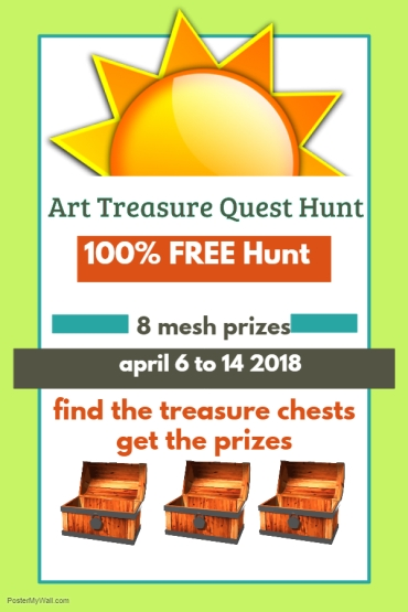 Art Treasure Quest Hunt
